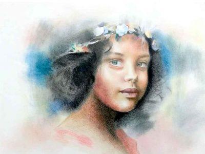 آموزش نقاشی پاستل پنج شنبه ها