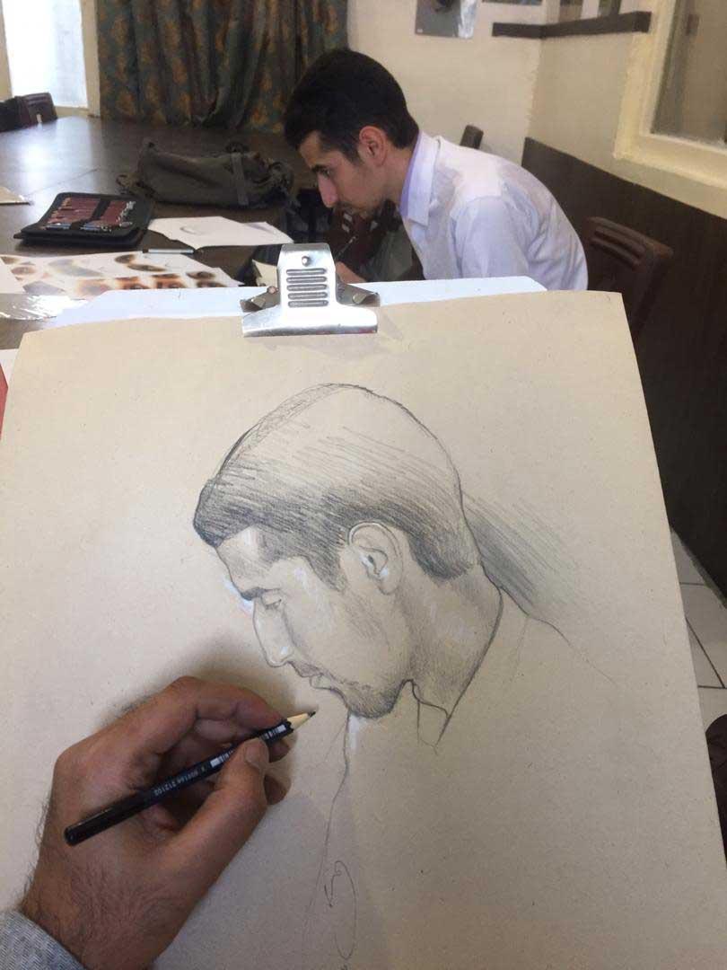 آموزش نقاشی پاستل