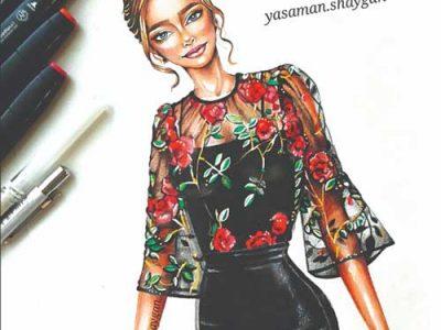 آموزش طراحی لباس جمعه ها