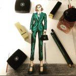 آموزش طراحی لباس شنبه ها