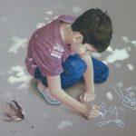 آموزش نقاشی پاستل جمعه ها