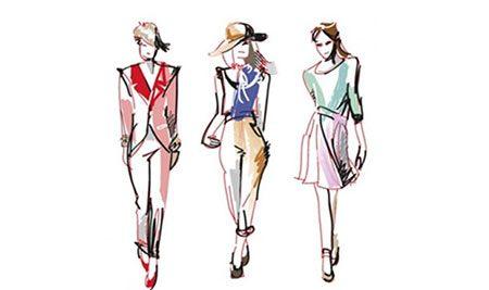 آموزش طراحی لباس و کشیدن مانکن