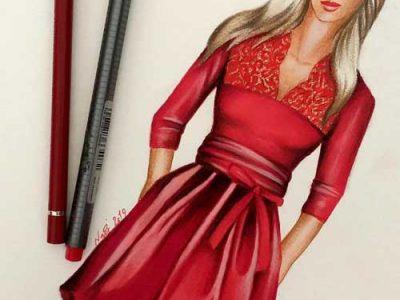 آموزش طراحی لباس سه شنبه ها