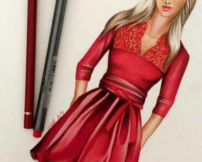آموزش طراحی لباس چهارشنبه ها