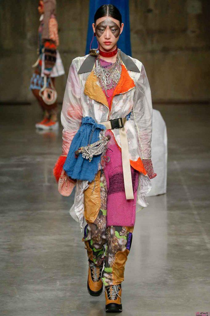 سبک عجیب و غریب طراحی لباس