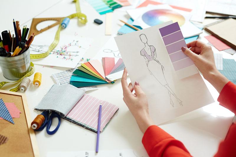 تصویر سازی و خلاقیت در طراحی لباس