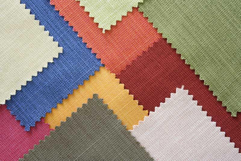پارچه شناسی و رنگ در طراحی لباس