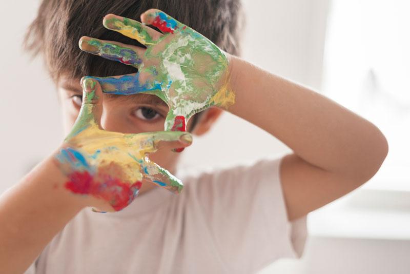 پرورش خلاقیت کودکان با استفاده از آموزش نقاشی