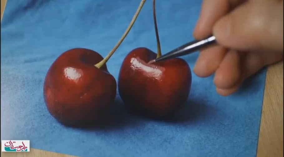 ویدئو آموزش نقاشی رنگ روغن در ۴ درس