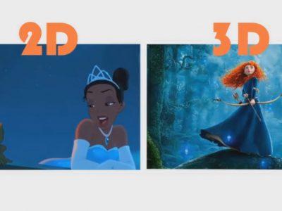 تفاوت انیمیشن دو بعدی و سه بعدی