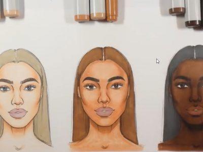 انتخاب ماژیک برای رنگ پوست های متفاوت