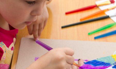 نقش هنر در رشد کودک
