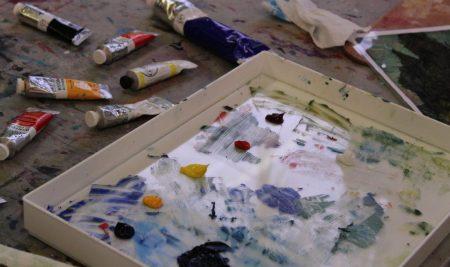 اصول اولیه نقاشی رنگ روغن