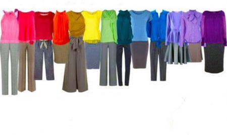 رنگ شناسی در لباس
