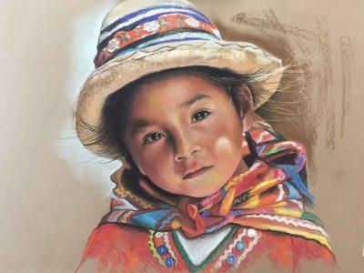 آموزش نقاشی پاستل سه شنبه ها